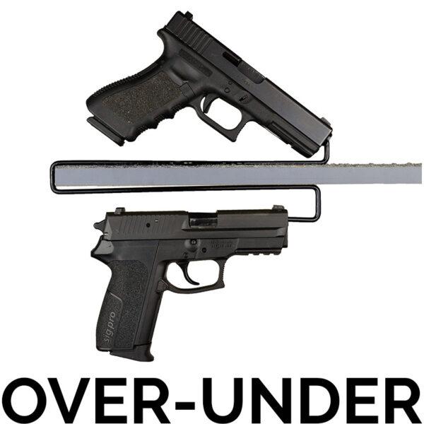 OverUnder_Handgun_Hangers
