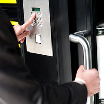 Facility Access Control Lock